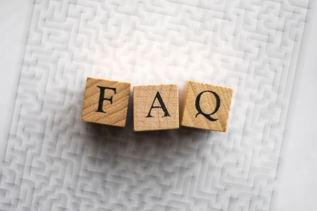 FAQの文字